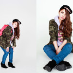 Photographer : Sunagawa Ayana;Stylist : Fujikawa Chihiro;Model : Katuki Momoko