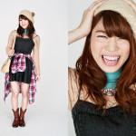 Photographer : Matsuda Risa;Stylist : Sakamoto Eri;Model :Suenaga Narumi