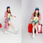 Photographer : Kase Ai;Stylist : Ueda Masami;Model : Ueda Masami