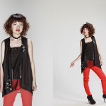 Photographer : Yamamoto Mami;Stylist : Fujikawa Chihiro;Model : Miyakawa Juri