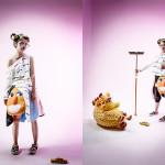 Photographer : Matsuda Risa;Design : Fuji Yayoi ; Stylist : Fuji Yayoi;Model :  Miyakawa Juri