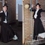 Photographer : Kase Ai;Design : Fuji Yayoi ; Stylist : Fuji Yayoi;Model : Matuzaki Mio