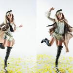 Photographer : Shimadzu;Design : Fuji Yayoi  ; Stylist : ;Model : Suenaga Narumi