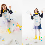 Photographer : Iida Runa ;Design : Ishii Mio :  Stylist ; Ichida Ai ; Satou Taiki ; Tanaka Natsuki ; Higashi Misaki ; Yamada Mao;Model : Hirai Marie