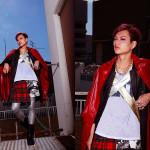 Photographer : Okuya Yuuki . Stylist : Satou Taiki . Model :