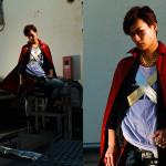 Photographer : Takemura Akira . Stylist : Satou Taiki . Model :